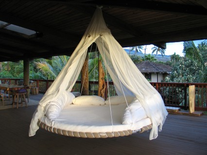 The hammock bed I want specifically. Photo from keep.com.