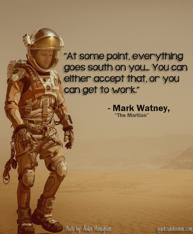 The Martian Positivity Quote